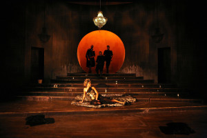 The Odyssey at Liverpool Everyman theatre. Writer Simon Armitage. Director Nick Bagnall.